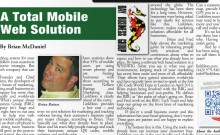 IN THE PRESS: A Total Mobile Web Solution